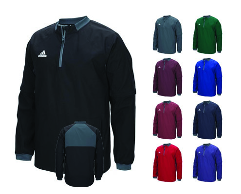 Adidas Climalite Fielder's Choice Convertible Jacket