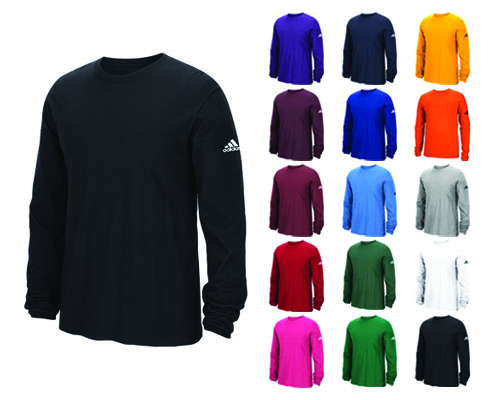 Adidas Long Sleeve Logo Tee