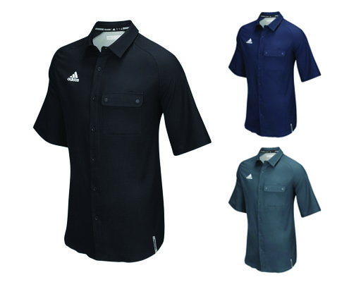 Adidas Modern Varsity Full Button Polo