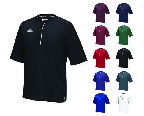 Adidas Modern Varsity Short Sleeve 1/4 Zip