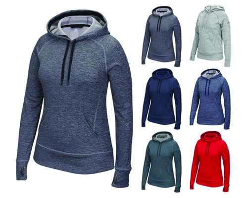 Adidas Women's Team Issue Full Zip Hood