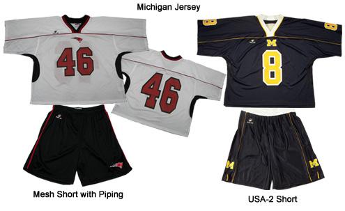 Michigan Lacrosse Jerseys