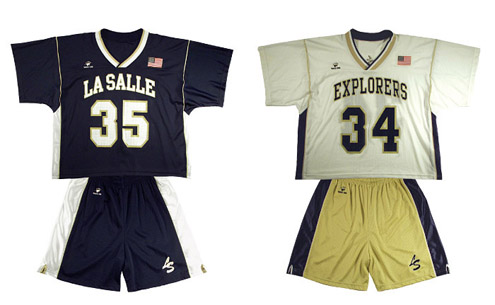 Explorer Lacrosse Jersey and USA-2 Lacrosse Shorts