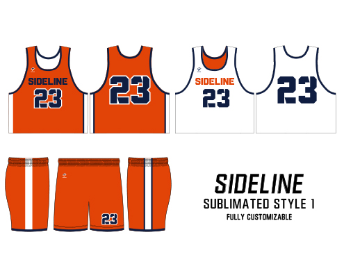 Wave One Sublimated Reversible Jerseys and Shorts