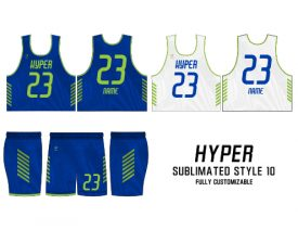 SUBLIMATED REVERSIBLE | STYLE 10: HYPER