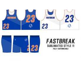 SUBLIMATED REVERSIBLE | STYLE 11: FASTBREAK