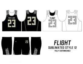 SUBLIMATED REVERSIBLE | STYLE 12: FLIGHT