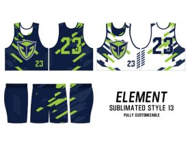 SUBLIMATED REVERSIBLE | STYLE 13: ELEMENT