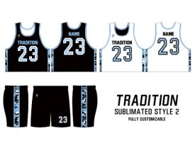 SUBLIMATED REVERSIBLE | STYLE 2: TRADITION