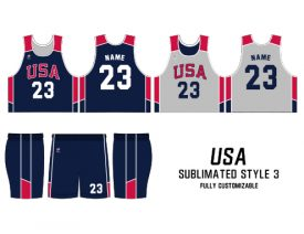 SUBLIMATED REVERSIBLE | STYLE 3: USA