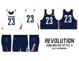 SUBLIMATED REVERSIBLE | STYLE 4: REVOLUTION