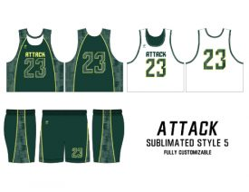 SUBLIMATED REVERSIBLE | STYLE 5: ATTACK