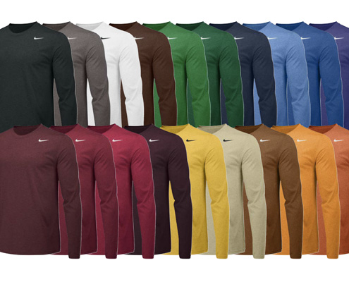 ea741f8d8057 Nike Team Legend Long Sleeve Crew from Wave One Sports.
