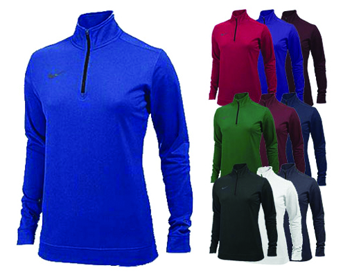 Nike Women's Dri-Fit 1/2 Zip Top