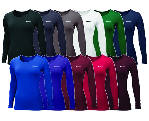 Nike Women's Pro Cool Long-Sleeve Top