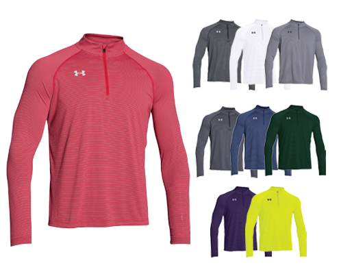 UA Stripe Tech 1/4 Zip