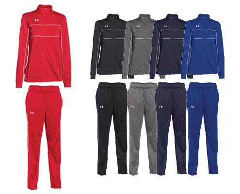 UA Women's Rival Warm Up Jacket and Pant