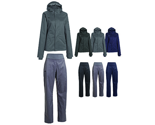 UA Women's Armourstorm Infrared Jacket & Pant