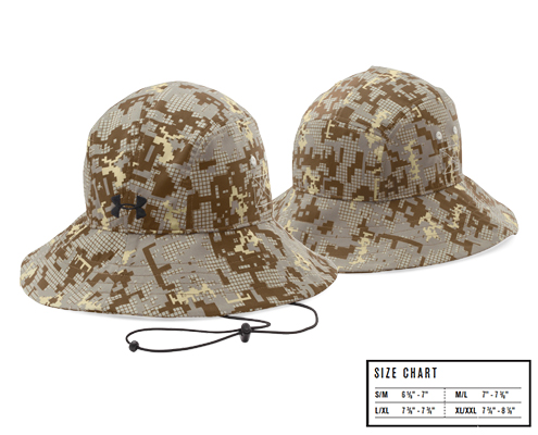 UA Digi Camo Team Warrior Bucket Hat