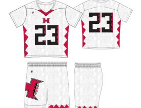 WAVE ONE SLIMFIT SUBLIMATED UNIFORM | STYLE 6: ELEMENT