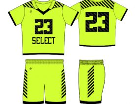 WAVE ONE SLIMFIT SUBLIMATED UNIFORM | STYLE 10: HiVis