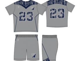 WAVE ONE SLIMFIT SUBLIMATED UNIFORM | STYLE 2: PINNACLE PATTERN