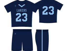WAVE ONE SLIMFIT SUBLIMATED NFHS-LEGAL UNIFORM | STYLE 2: SIDE STRIPE