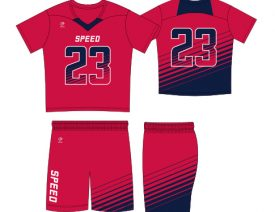 WAVE ONE SLIMFIT SUBLIMATED UNIFORM | STYLE 4: SPEED