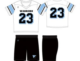 WAVE ONE SLIMFIT SUBLIMATED UNIFORM | STYLE 8: VARSITY