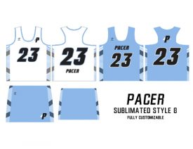 Wave One Women's NFHS Sublimated Uniform #8 PACER