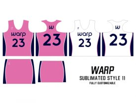 Wave One Women's NFHS Sublimated Uniform #11 WARP