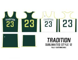 Wave One Women's NFHS Sublimated Uniform #12 TRADITION