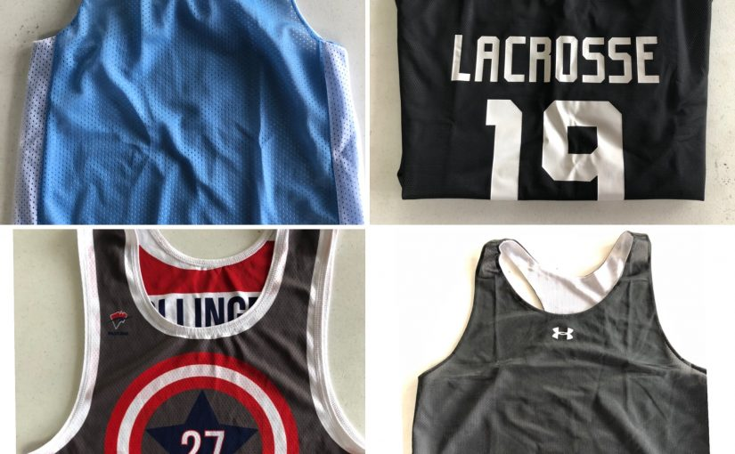The Wave Knows Lacrosse Pinnies