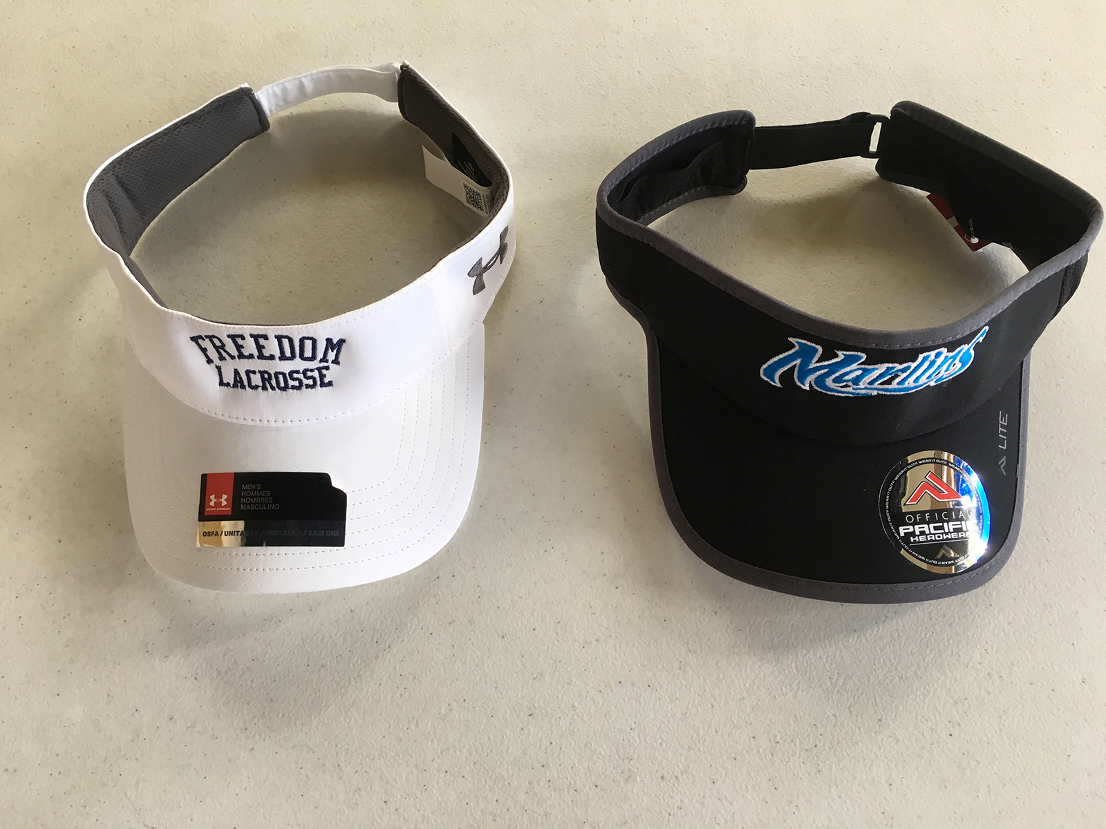 Lacrosse Visors for Your Team