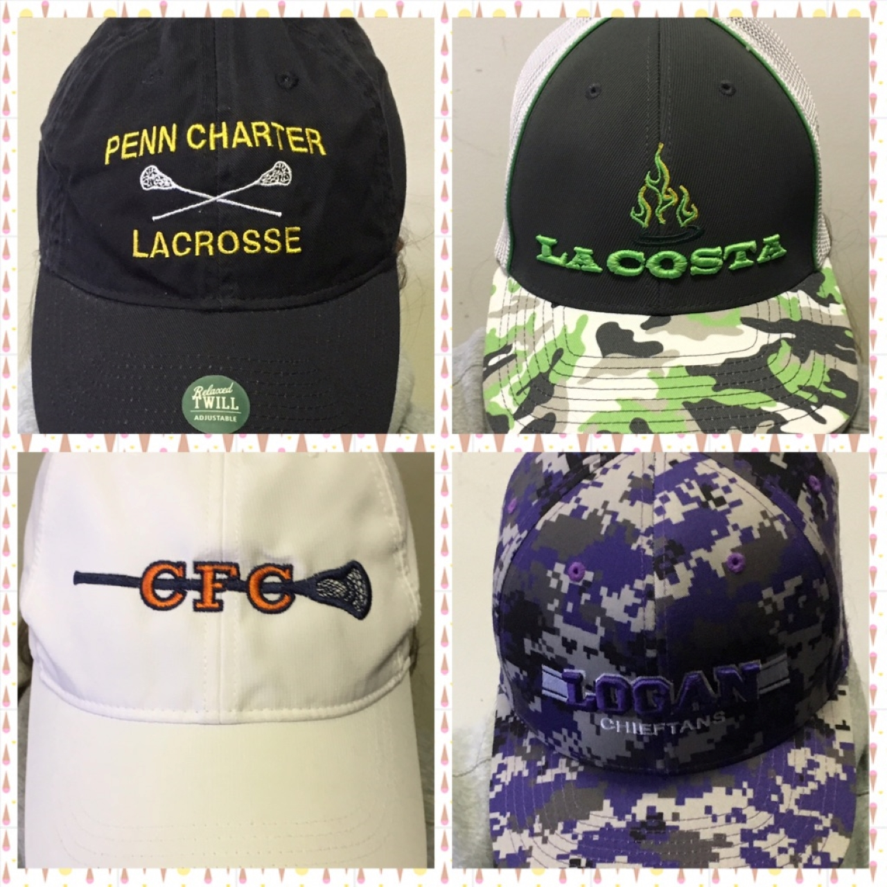 Lacrosse Trucker Hats are all the Rage