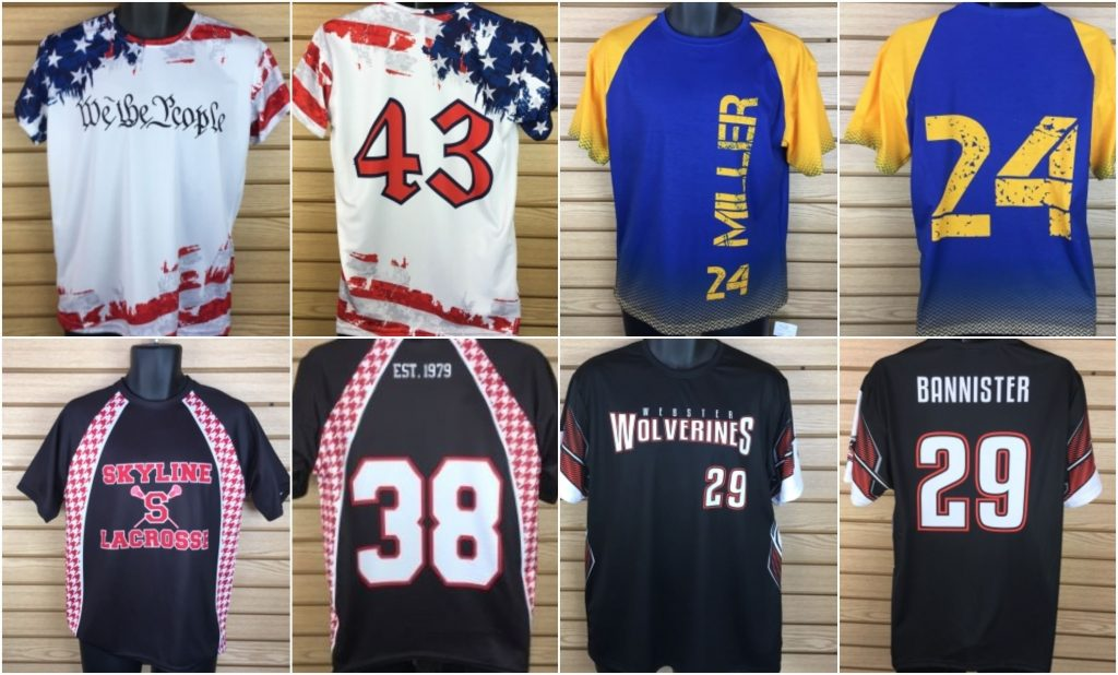 Sublimated shooting shirt - lacrosse