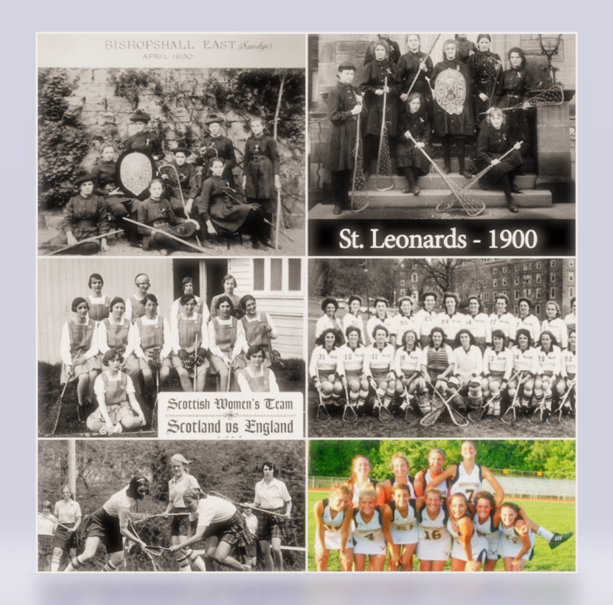 The History of women's Lacrosse Uniforms – You've Come a Long Way Baby