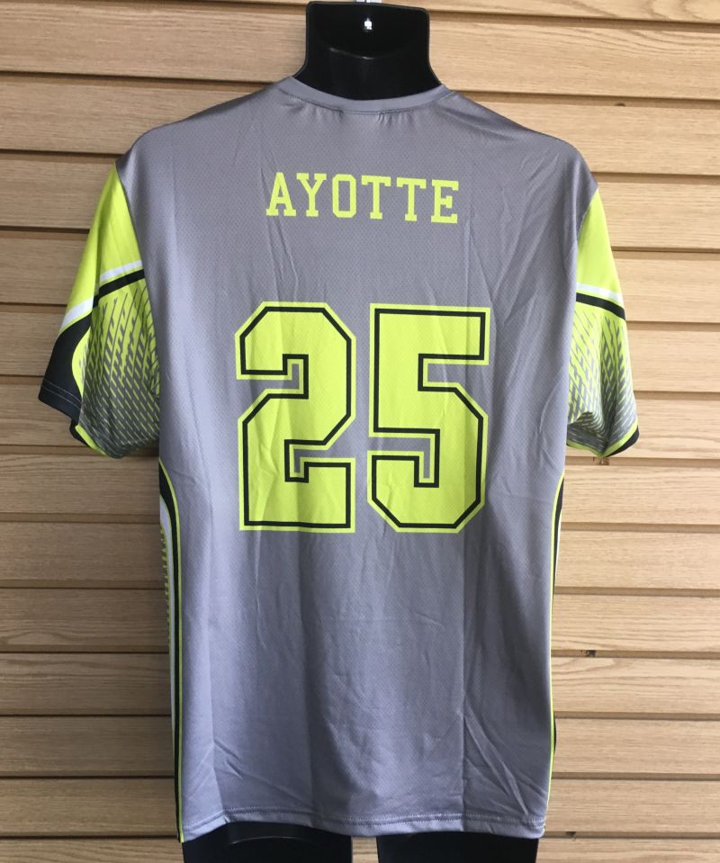 Custom Sublimated Lacrosse Shooter Shirts