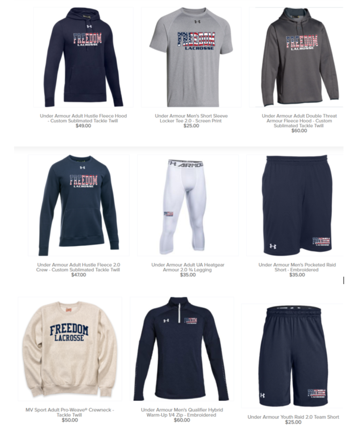 Back to School Online Team Store
