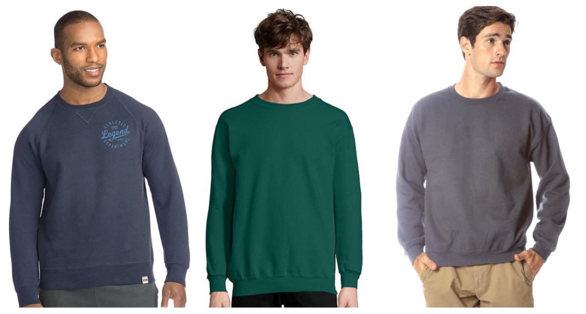Crewneck Sweatshirts are Trending