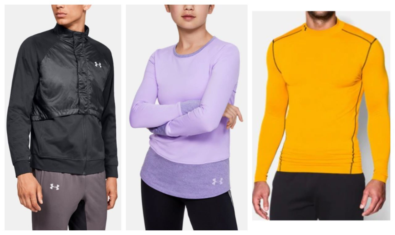 Get Ready for the Fall and Winter with Under Armour ColdGear