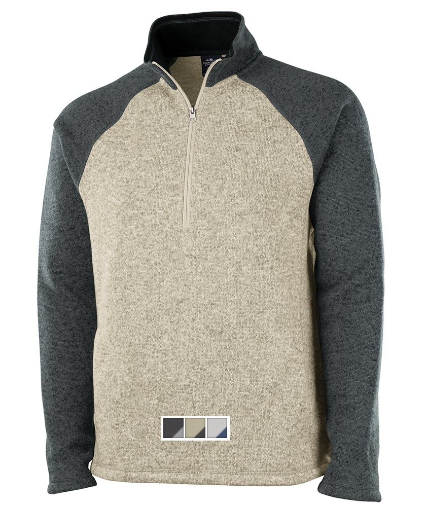 Charles River Quarter Zip Color Block