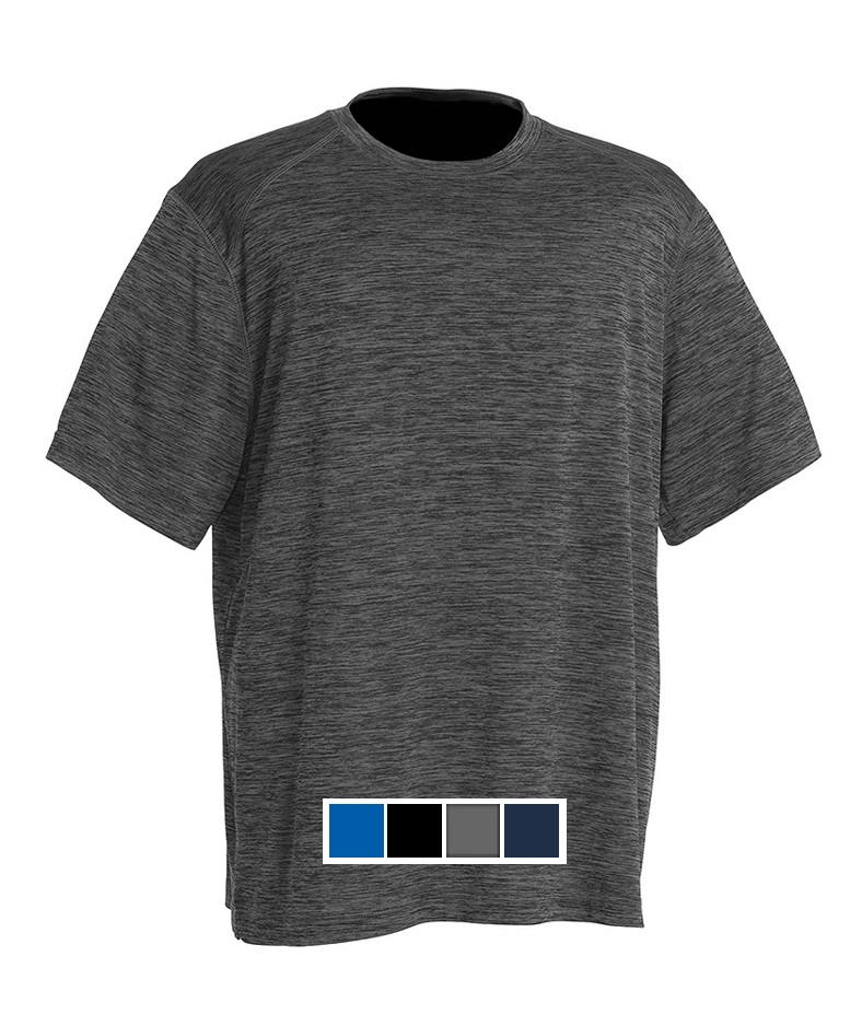 Charles River Space Dye Performance Tee