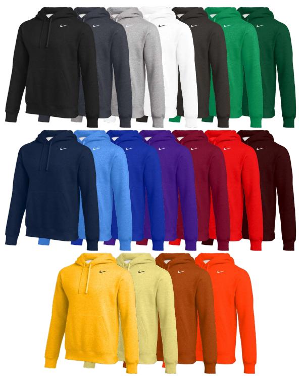 Nike Team Club Pullover Hoodie