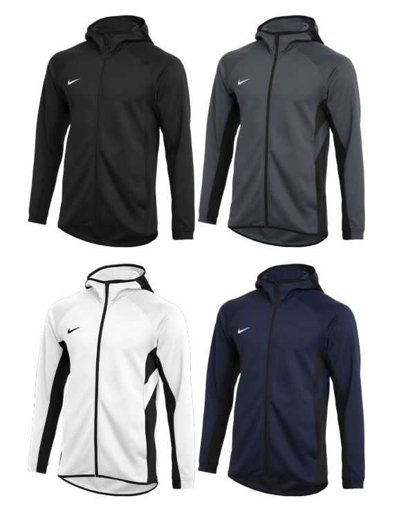 Nike Stock Thermaflex Showtime Full Zip Hoodie