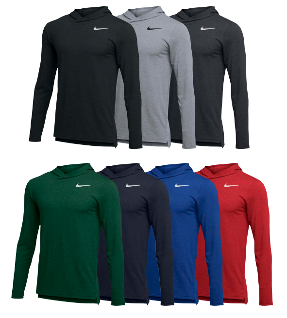 Nike Hyper Dry LS Hooded Breathe Top