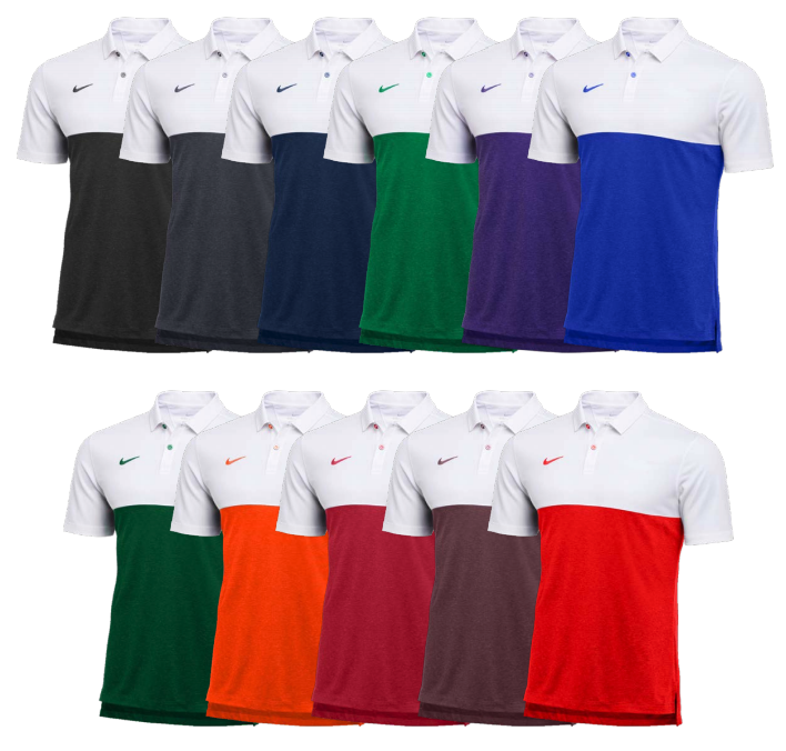 Dry Short Sleeve Color Block Polo