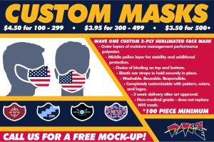 Wave One Custom Mask