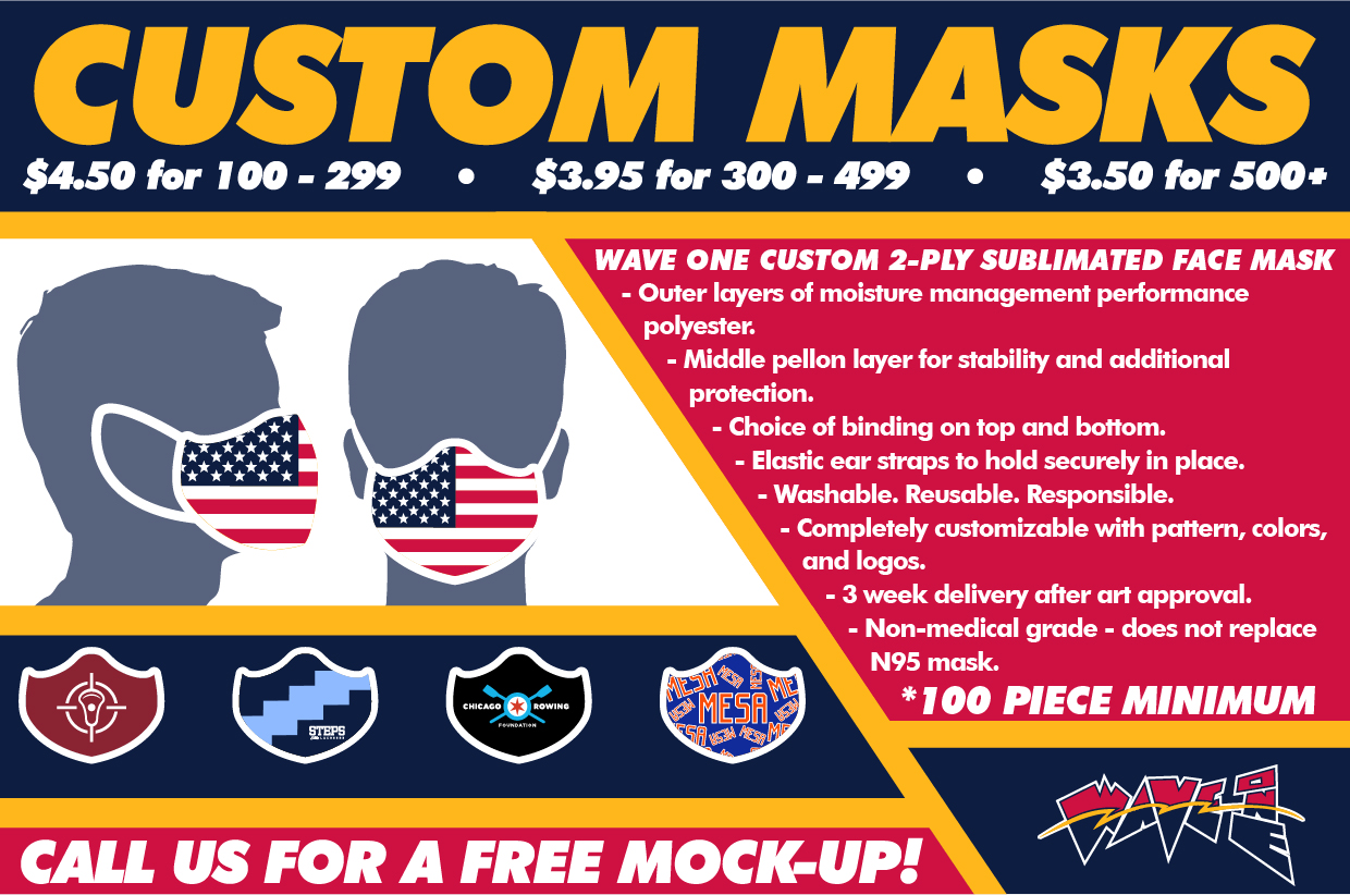 Wave One Custom Mask