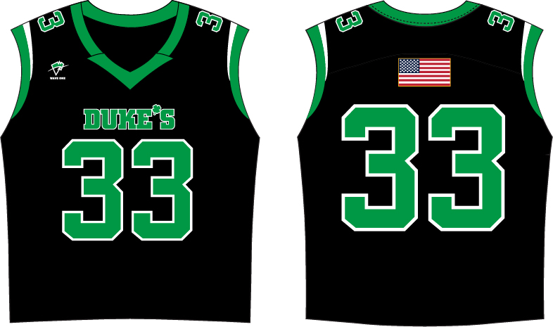 Wave One Sports Sublimated Sleeveless Jersey